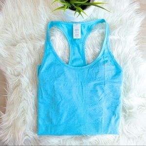 ❌ SOLD ❌ Champions Baby Blue Duo Dry workout Tank